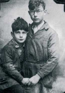 Frank und Ernst Wohl, Berlin. Deportiert nach Auschwitz.