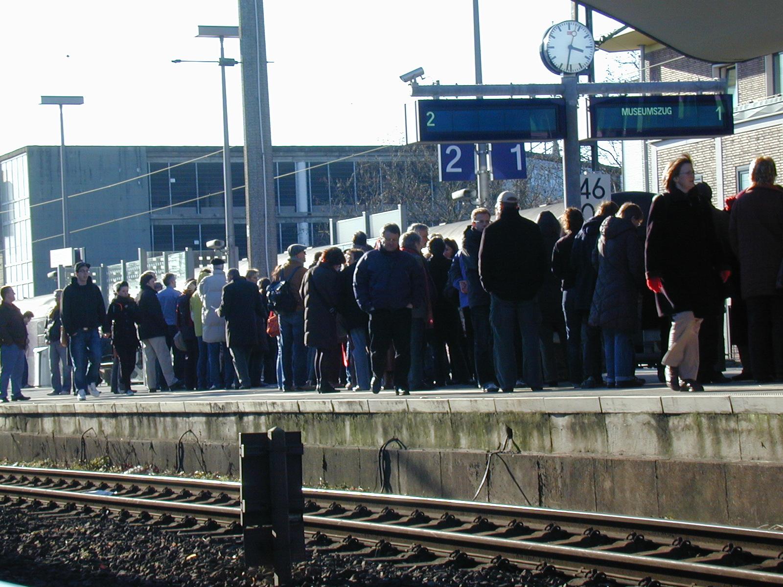 6.000 Besucher im Zug der Erinnerung